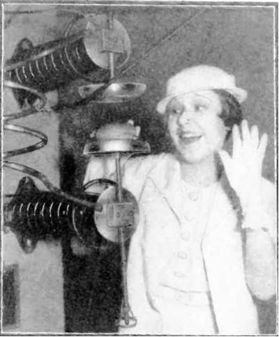 Picture Of Cooking With Shortwave Radio Transmitter 1933