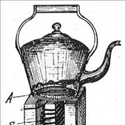 Picture Of Early Induction Cooker Patent 1909