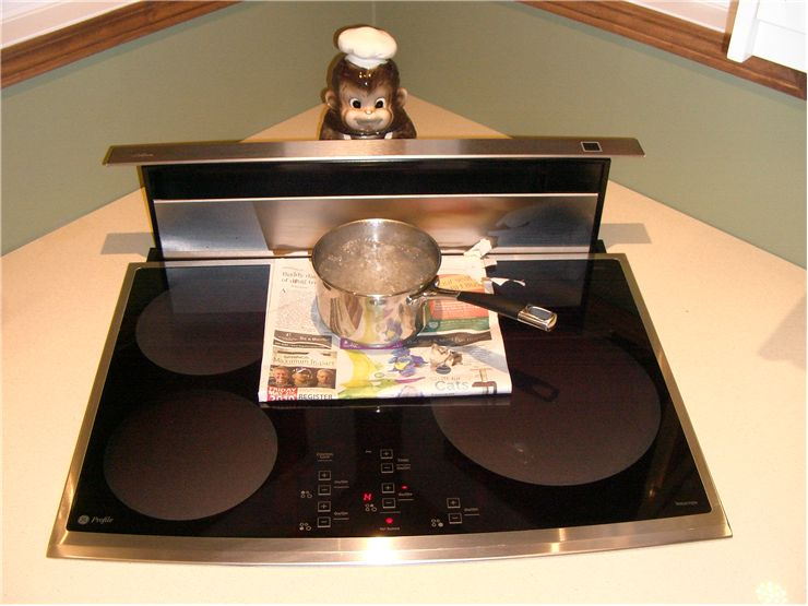 Picture Of Induction Cooking Surface Boiling Water