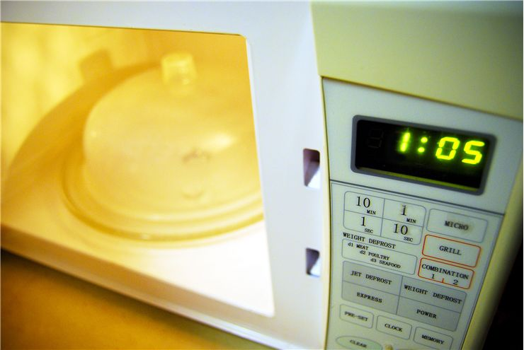Picture Of Modern Microwave