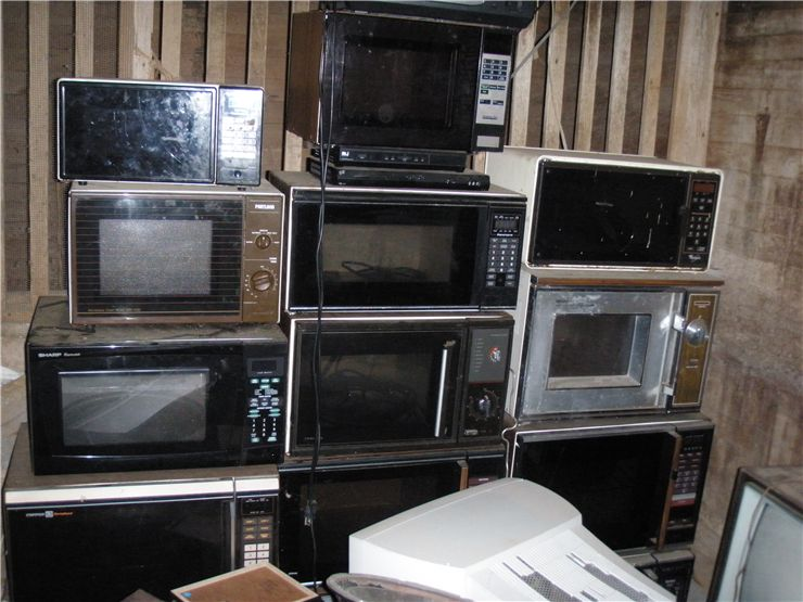 Picture Of Old Microwave Ovens