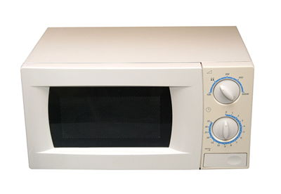 Picture Of White Microwave Oven
