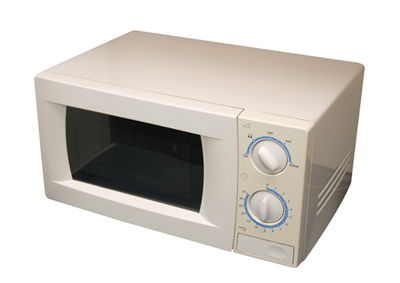 Picture Of White Modern Microwave Oven